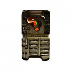 Kit de Atornillador Inalámbrico 3.6V Black&Decker LI3100K-B3