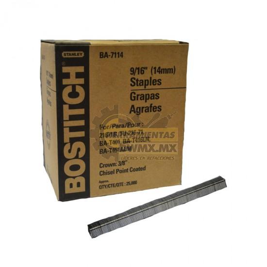 Grapa Industrial 3/8'' x 9/16'' BOSTITCH BA-7114