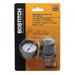 Conjunto Regulador y Medidor 1/4'' BOSTITCH BTFP72326