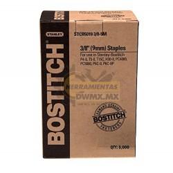 Grapas 3/8'' BOSTITCH STCR50193/8-5M