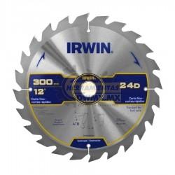 Disco Sierra Corte Fino 12'' x 24T IRWIN 364003LA
