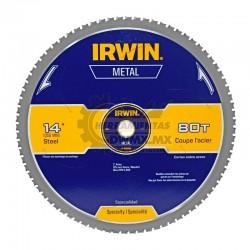 "Disco para Cortar Metal 14"" 80T IRWIN 4935559"