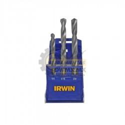 Juego de 3 Brocas para Concreto IRWIN 891510