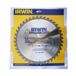 Disco Sierra Corte Fino 14'' X 40T IRWIN 15192ZR