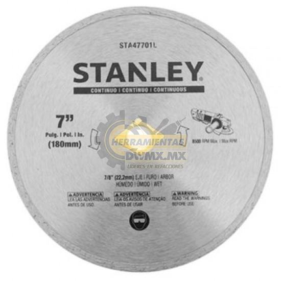 Disco Diamantado Continuo Stanley STA47701L