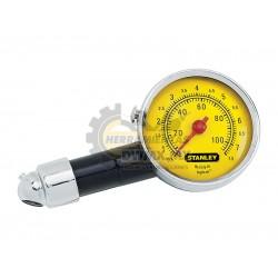 Manómetro de Cuadrante para Neumáticos Stanley 79-052