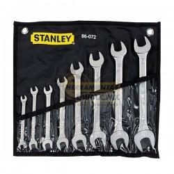 Juego de 8 Llaves Combinadas Stanley 86-072