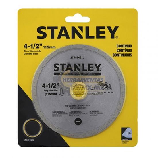 "Disco Diamantado Continuo 4-1/2"" Stanley STA47451L"