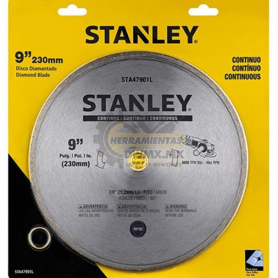 "Disco Diamantado Continuo 9"" Stanley STA47901L"