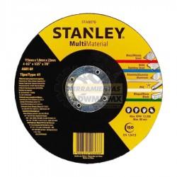 """Disco de Corte Extrafino Multimaterial 4-1/2"""" STANLEY STA8070"""