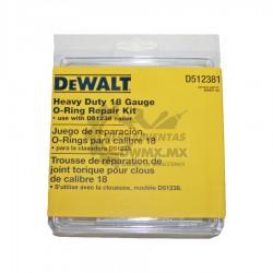 Kit de O'rings para Clavadora DEWALT 605647-00