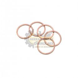 Bolsa de 5 Anillos de Cobre para Broca Diamantada DeWalt D215854-XJ