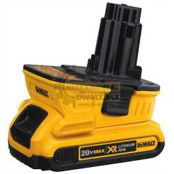 Adaptador de Baterías de 20V a 18V DeWalt DCA1820