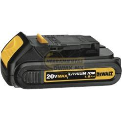 Batería de 20V Ión de Litio 1.5 Amperes DeWalt DCB201