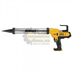 Pistola Adhesiva Salchicha Inalámbrica 20V MÁX 300-600ml DEWALT DCE580B