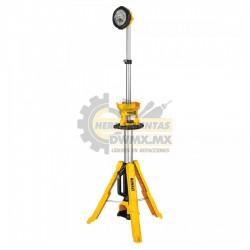 Juego de Luz con Trípoide DEWALT DCL079R1 lampara