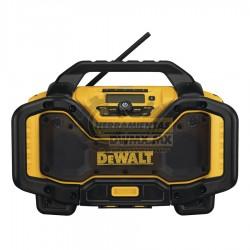 Radio Cargador de Bluetooth 20V / 60V MÁX DEWALT DCR025