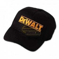 Gorra Negra DeWalt DEW105