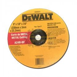 Disco Abrasivo Corte Metal DEWALT DW00221