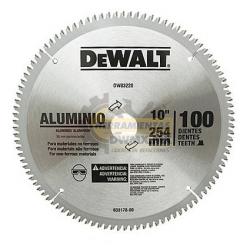 "Disco 10"" 100T DeWalt DW03220 cambio DWA03220"
