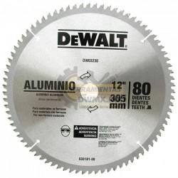 "Disco 12"" 80T DeWalt DW03230"