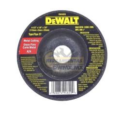 "Disco Abrasivo 4 1/2"" DeWalt DW44820 (DW54820)"