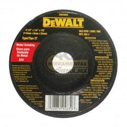 "Disco Abrasivo 4 1/2"" DeWalt DW44830 (DW54830)"