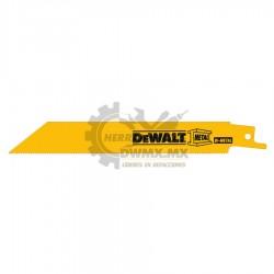 "Segueta para Sierra Sable 6"" DeWalt DW4811B25"