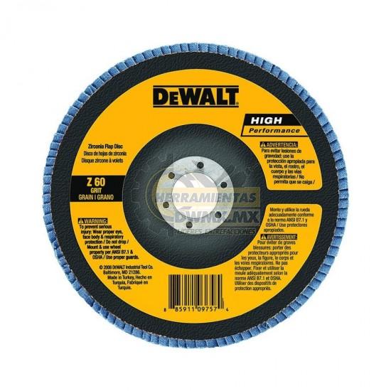 Disco Flap 7'' DEWALT DW8325-AR