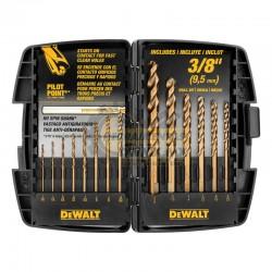 Juego de Brocas de Cobalto Industrial DEWALT DWA1240