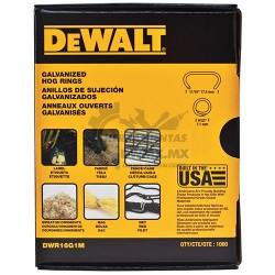 Anillos de Sujección Galvanizados DeWalt DWR16G1M