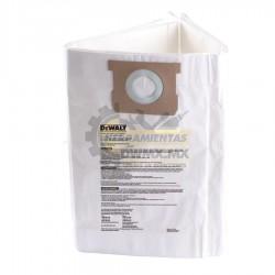 Paquete 3 Bolsas de Filtración Desechables DEWALT DXA19-4101