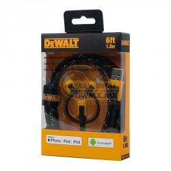 Cable 3 en 1 Reforzado para Lightning 6' DEWALT DXMA1311356