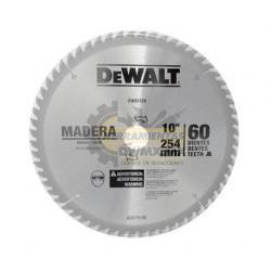 "Disco 10"" 60T DeWalt DW03120"