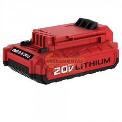Batería Compacta Litio 20V Porter Cable PCC680L